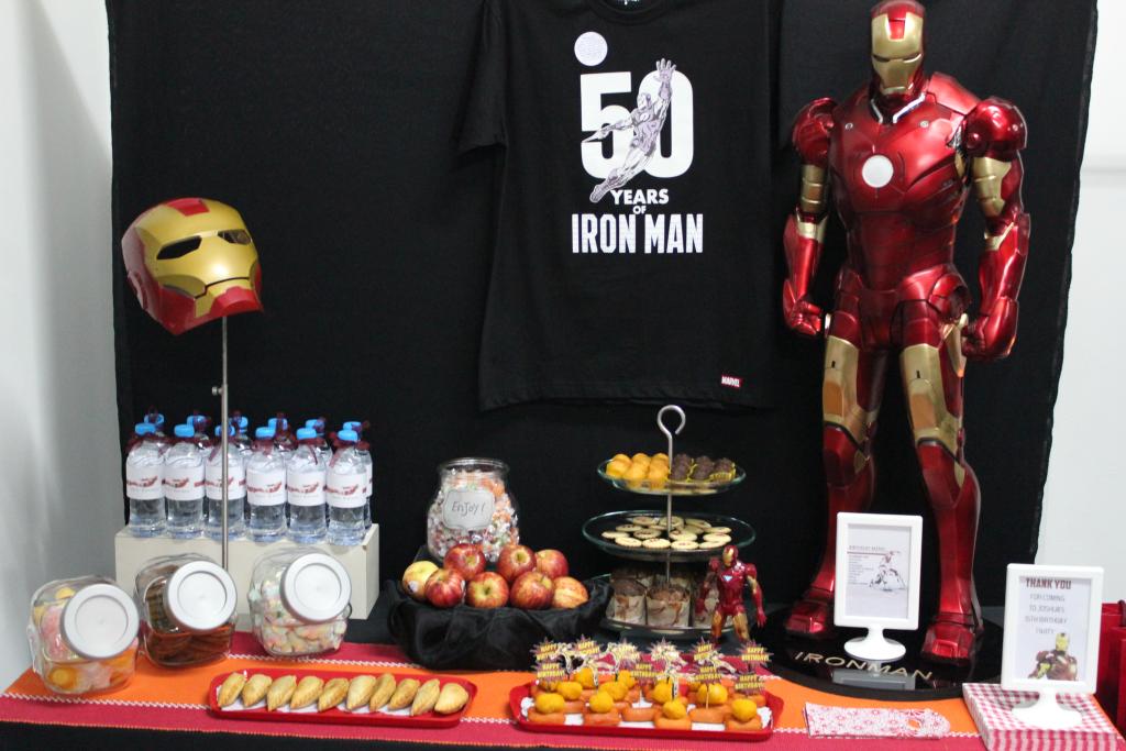 Iron Man Birthday Decorations Pinterest
