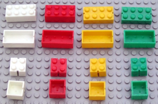 First LEGO bricks