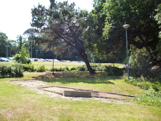 Abandoned Mini Golf on Exeter Road in Bournemouth, Dorset