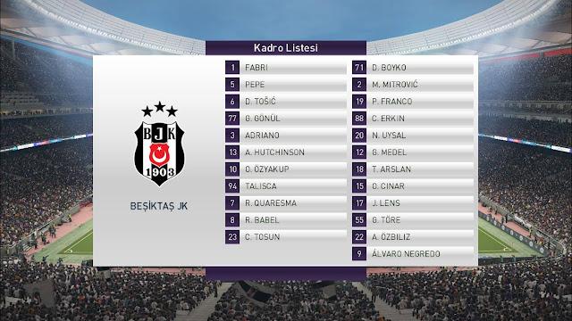 PES 2018 beIN Sport Scoreboard