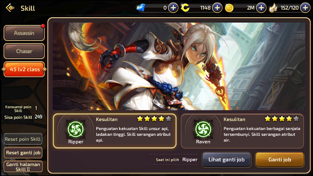 Job Chaser  Dragon Nest M-Sea Mending Yang Mana Raven atau Ripper?