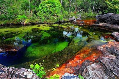 paisajes coloridos de México