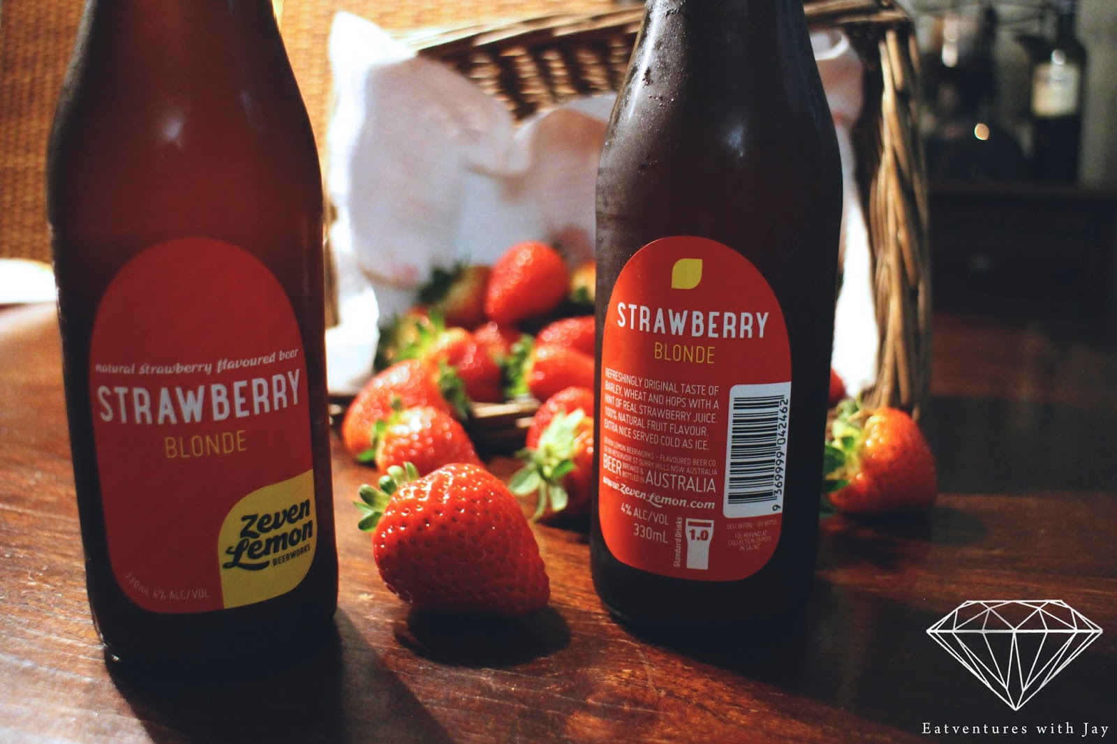 Spotlight Sunday: *Zeven Lemon Strawberry Beer | Eatventures