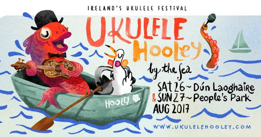 Catch us at the #Ukulele Hooley, #Dublin, August 27th