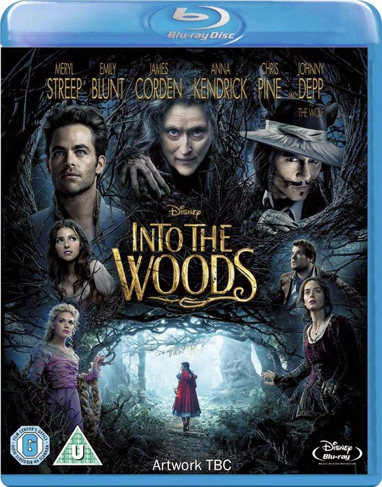 Into The Woods Blu Ray Cover Caratula