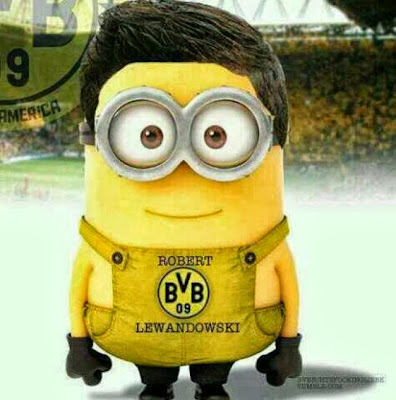 Minion de Robert Lewandowski BVB