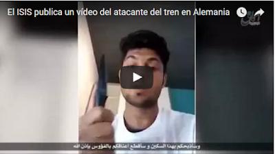 Anunció en vídeo atentado de tren de Alemania por redes sociales Publicar