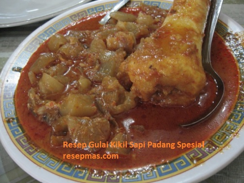 Resep Gulai Kikil Sapi Padang Spesial dengan rasa yang enak