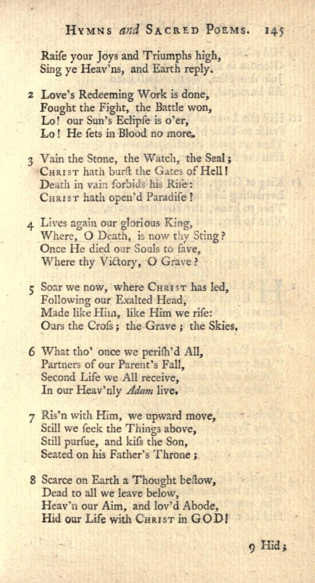 Lyric risen lyrics : Songs of Praises: Christ the Lord is Risen Today