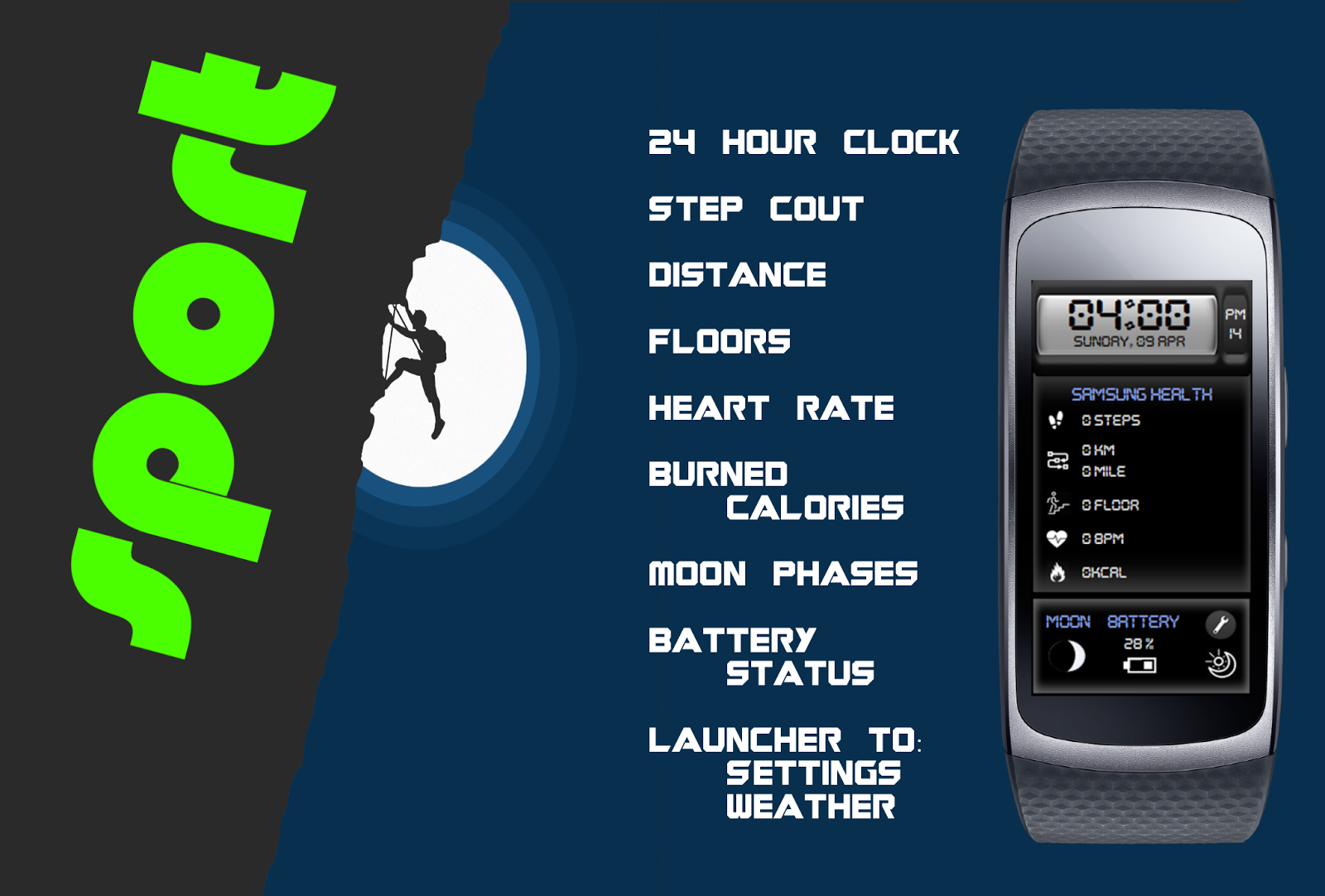 Comin Themes [SMB]: Watch Face