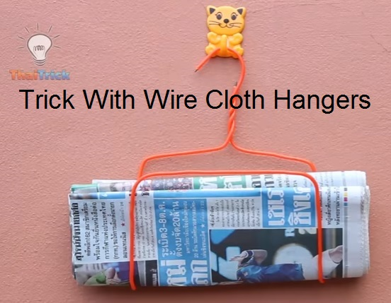 tricks with hangers