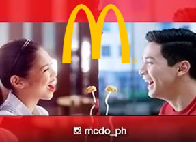 McDonalds with Alden Richards (the other half of the AlDub love team)