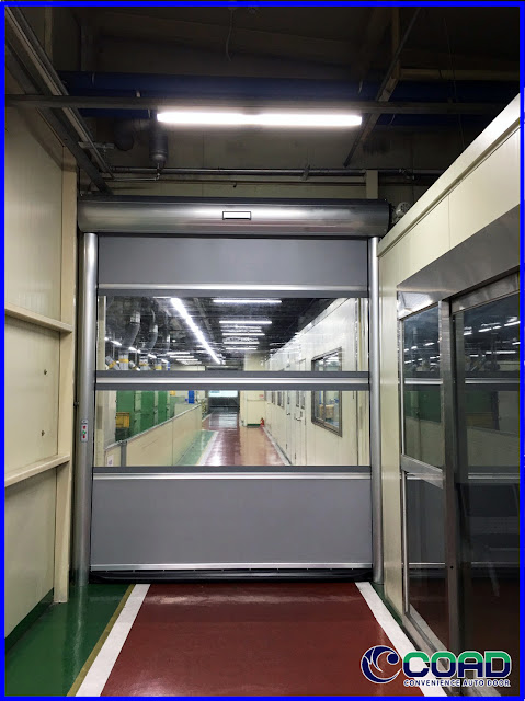 COAD, HIGH SPEE DOOR, ROLL UP DOOR, ROLLING DOOR, KOREA, JAPAN, INDONESIA, MALAYSIA, THAILAND, VIETNAM