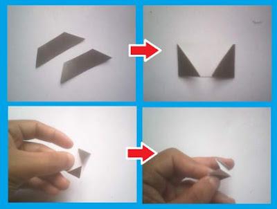 Cara membuat Guci dan vas bunga dari kertas bekas