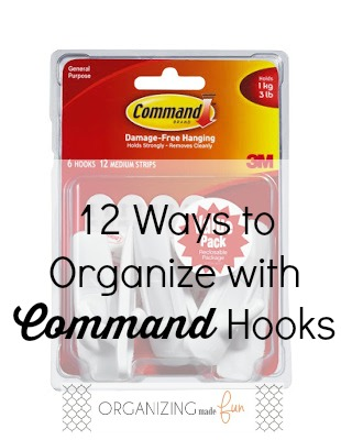 12 Ways to Organize with Command Hooks :: OrganizingMadeFun.com