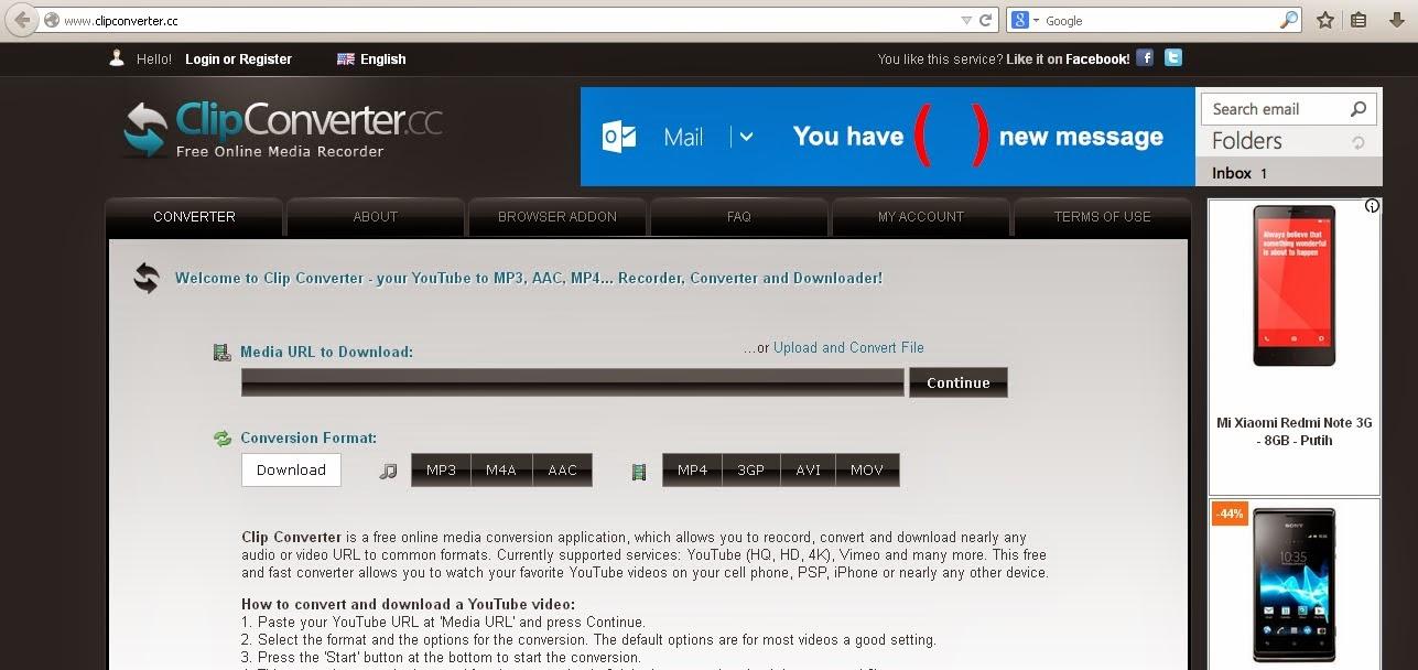 savenet online youtube downloader