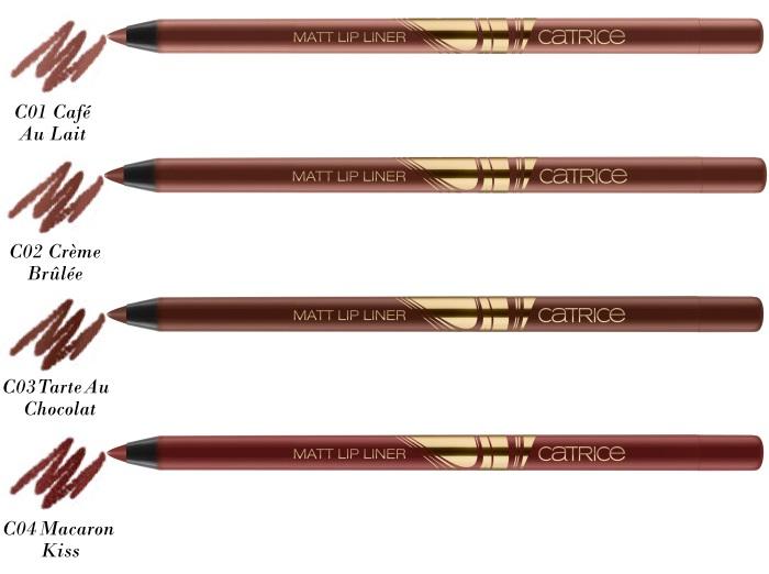Catrice Blessing Browns matt lip liner