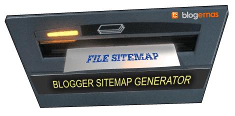 Cara Menggunakan Sitemap XML Generator untuk Blogger
