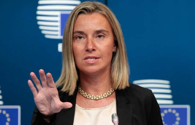Mogherini to Macedonians: EU doors are open, you hold the key