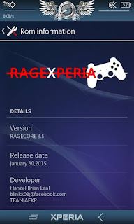Custom Rom RAGEXPERIA Flyme OS Standar Minimalis