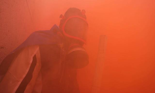 Τα χημικά στους διαδηλωτές δεν κλόνισαν το υψηλό φρόνημά τους