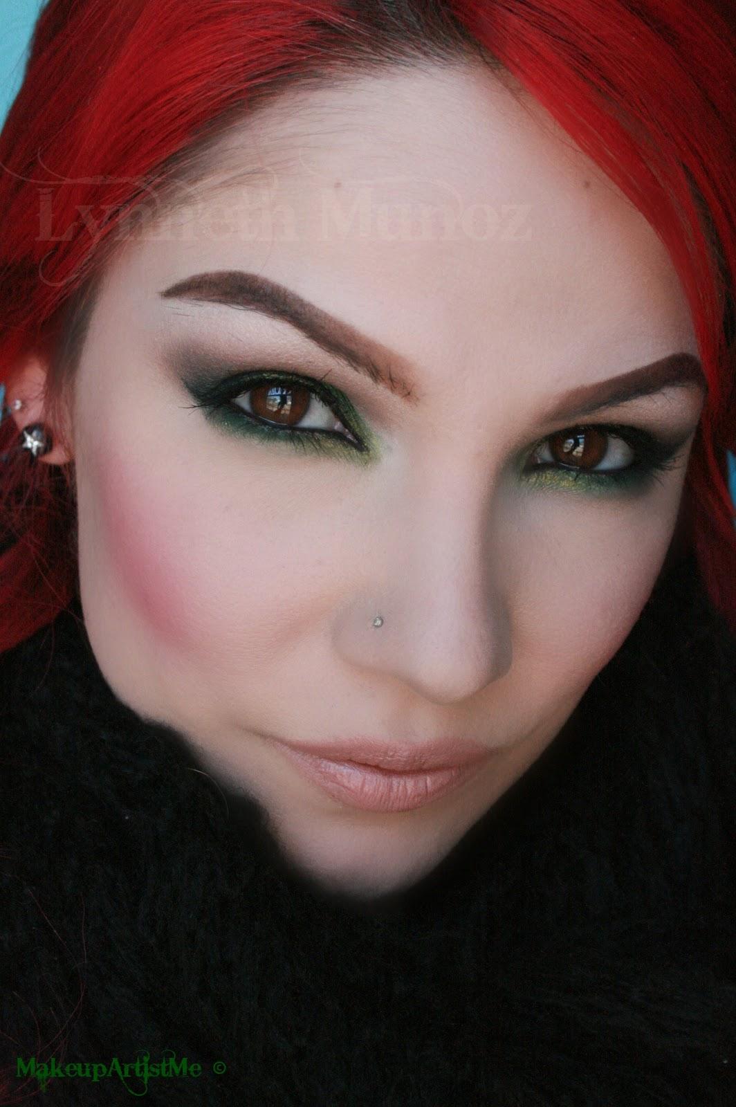 Make Up Artist Me Quot Emerald Smoke Quot Makeup Tutorial