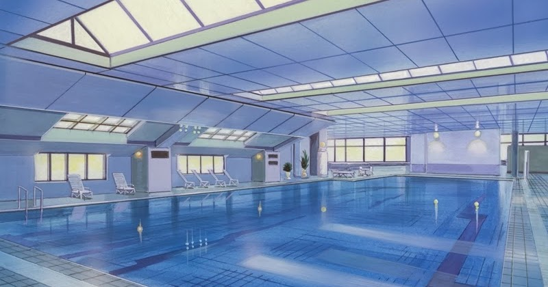 Anime Landscape Sport Anime Background