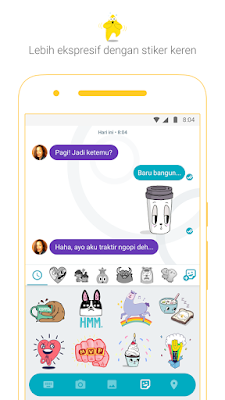 Sticker Google Allo
