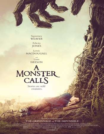 Poster Of A Monster Calls 2016 English 700MB DVDScr x264 Free Download Watch Online downloadhub.net