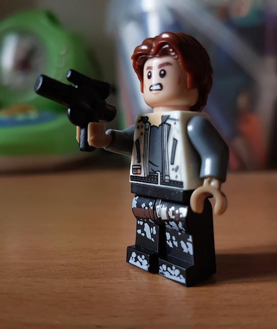Молодой Ханс Соло фигурка лего Звездные войны, Стар Варс