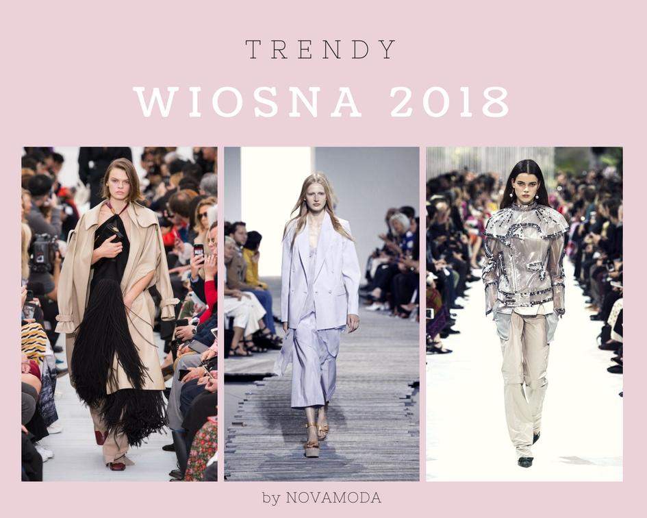 Porady stylisty * trendy wiosna 2018