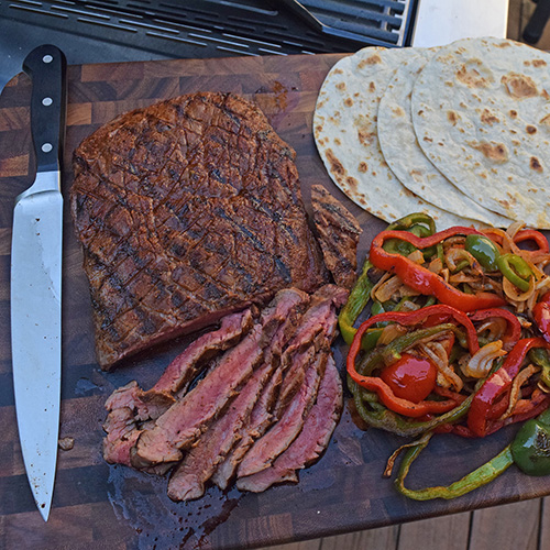 Quick and easy fajita marinade