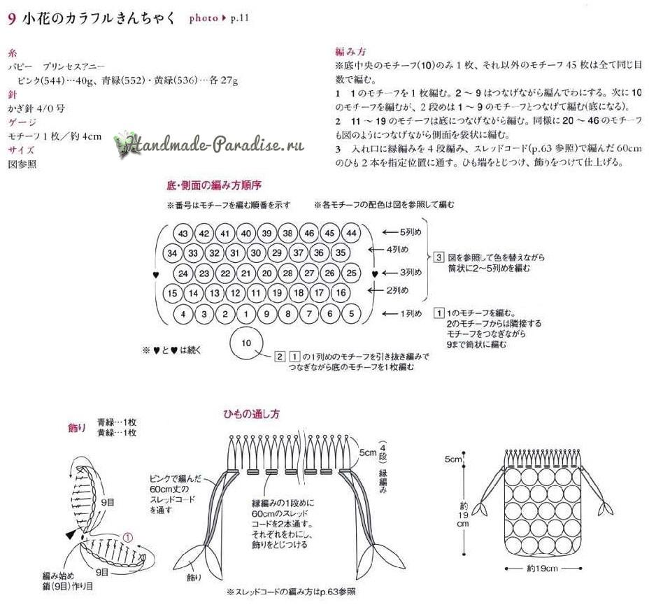 Цветочный вариант мешочка (1)