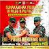 H-47 Jelang Pemilu 17 April, Polres Bangkalan Bersama Dandim Serta Danlanal Tekadkan Soliditas dan Netralitas