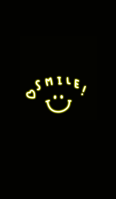 smile and neon