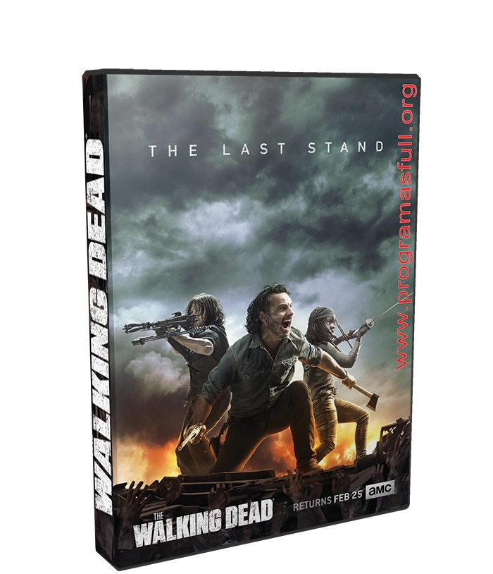 The Walking Dead Temporada 8 HD 720p poster box cover