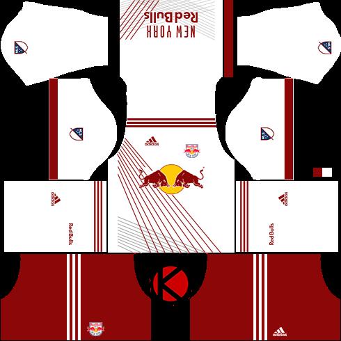 sports shoes 5b056 8394d ALLHERE: Information New York Red Bulls kits 2018 - Dream ...