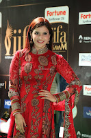 Mannara Chopra and Khushbu in Red at IIFA Utsavam Awards 2017  Day 2  Exclusive 13.JPG