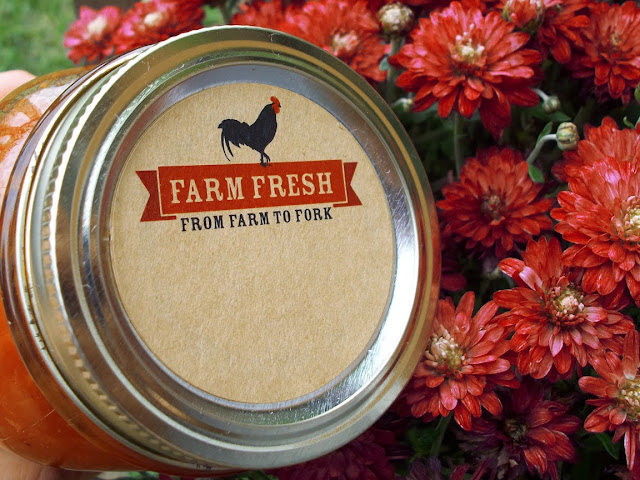 farm fresh canning labels