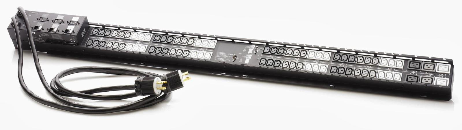 PDU com entradas C13 e tomada lock L5-20P