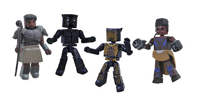 Black Panther Movie Marvel Minimates Series by Diamond Select Toys
