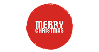 Red shade colour Merry Christmas png free download