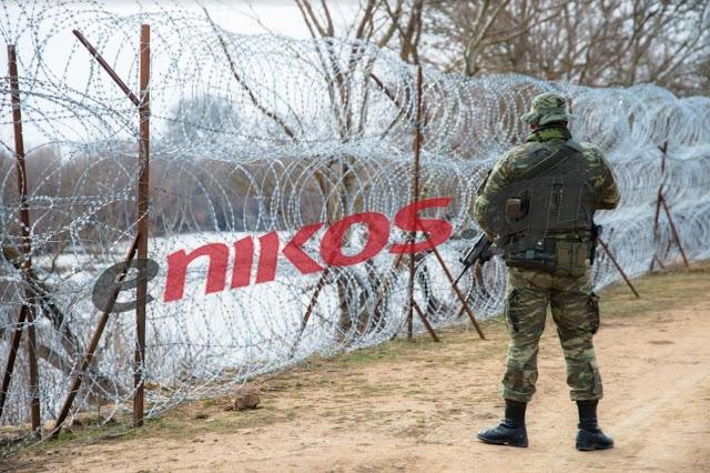 Ο Στρατός τρέχει με πυρετώδεις διαδικασίες την ανέγερση φράχτη στον Έβρο (ΦΩΤΟ)