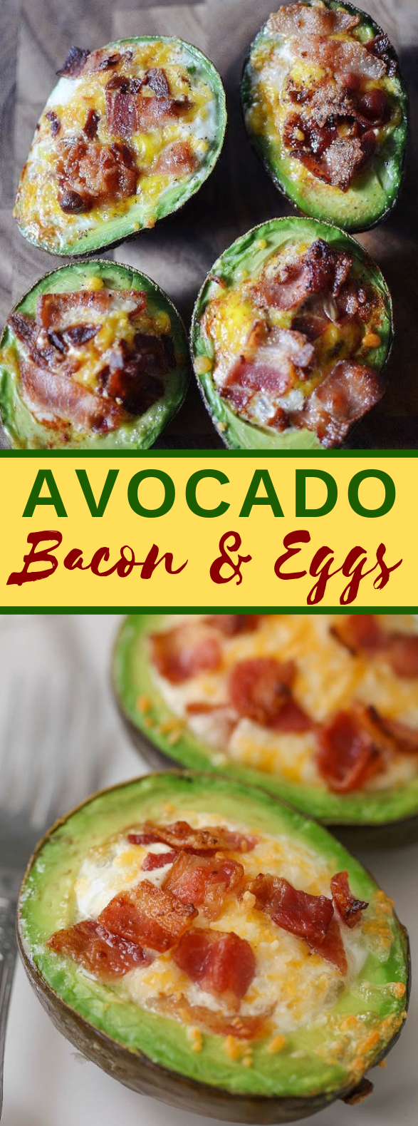 AVOCADO BACON AND EGGS #healthydiet #paleomeals