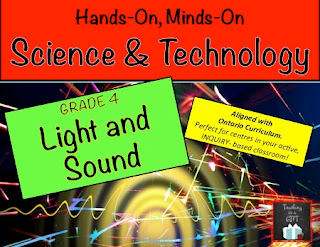 Ontario Curriculum Science Centres from Teachingisagift