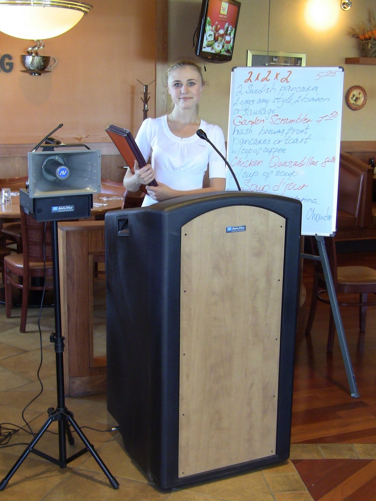 All Things Restaurant Hostess Stands Pa Systems Valet