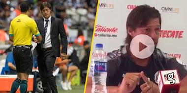 """VIDEO: Almeyda confiesa """"las palabritas"""" que le dijo árbitro que lo expulsó"""