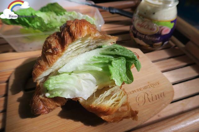 Lady's Choice Croissant Sandwich