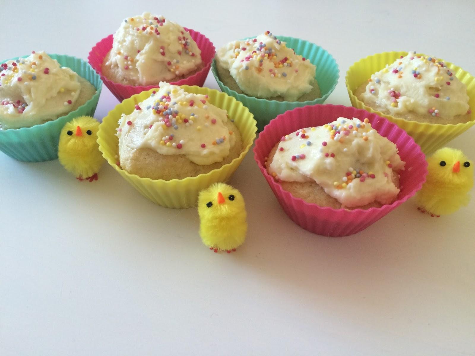 Vegan Egg Fairy Cakes