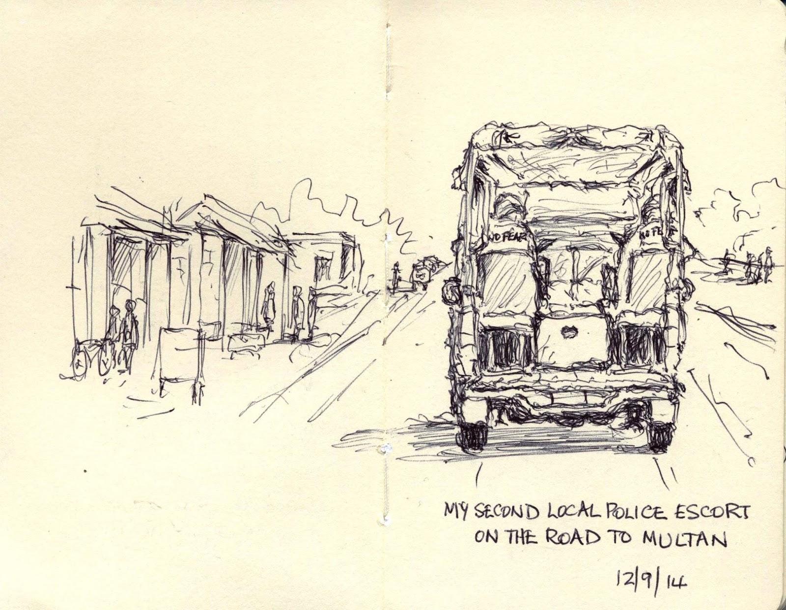 "Anne Duarte Escort watching the watchers: ""life"" drawing in pakistan | urban"